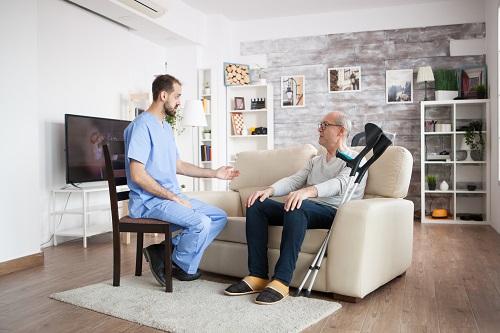 Présentation des équipements pour une maison de retraite
