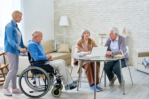 chambre en maison de retraite
